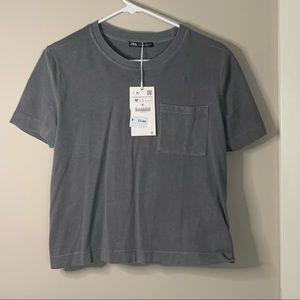 Zara Crop Style T-Shirt